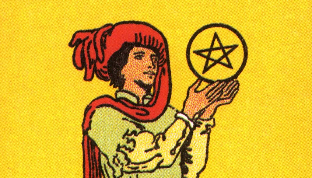 Page of Pentacles - post