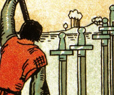 Six of Swords - post